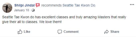 Adult 3, Seattle Tae Kwon Do