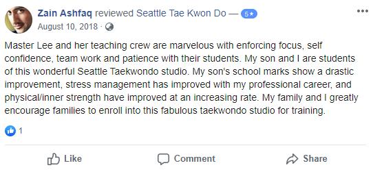 Kids 5, Seattle Tae Kwon Do